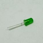 LED 5mm สีเขียว (ถุง 10 ตัว)