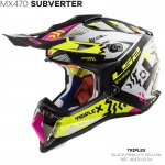 MX470 SUBVERTER TRIPLEX BLACK PINK YELLOW