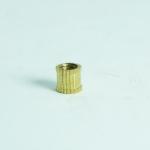 M5x6x6mm copper insert nuts