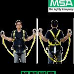 เข็มขัดนิรภัย MSA Workman Utility และชือกนิรภัย Workman Energy Absorbing Lanyard