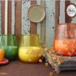 เทียนในแก้ว เทียนหอมตกแต่งบ้าน (Filled Outdoor Glass Candle)