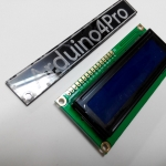 16x2 LCD (Blue Screen) with backlight of the LCD screen