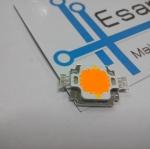 10W High power LED แสงสีเหลือง แรงดัน 6-7V อัตราความสว่าง 270-350LM