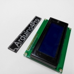 LCD 20X4 ขนาด 20 ตัวอักษร 4 แถว 5V Blue screen with backlight