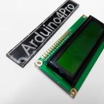16x2 Character LCD Module Display (Yellow Green)