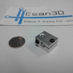 Aluminium Heat Block for E3D V6 J-head 3D Printer Makerbot
