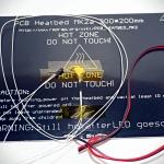PCB Aluminium Heatbed MK2A 200 x 300mm