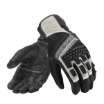 Rev'it Sand3 Glove Silver-Red