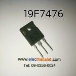 19F7476 MOSFET N-CH 19A/500V