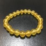 หยกน้ำผึ้ง 8 มม./Honey Jade 8 mm.