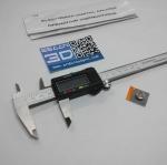 Digital vernier caliper stainless steel พร้อมกล่อง + แถมถ่าน 1 ก้อน