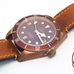 Tudor Heritage Black Bay ขอบแดง Bronze