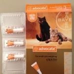 ยาหยด Advercate แมว size 0-4 kg
