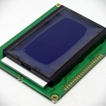 128x64 LCD module จอสีน้ำเงิน