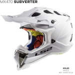 MX470 SUBVERTER SINGLE MONO GLOSS WHITE