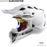 MX470 SUBVERTER SINGLE MONO GLOSS WHITE