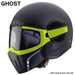 Caberg JET GHOST FLUO MATT BLACK