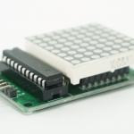 MAX7219 - 8x8 dot matrix module พร้อมสาย