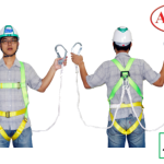 เข็มขัดนิรภัย Safety Harness Adela H4501 1D-Ring Double Lanyard