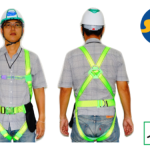 เข็มขัดนิรภัย Safety Harness SS-TOP Full Body Harness 1D Auto Buckle