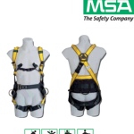 เข็มขัดนิรภัย MSA Workman Utility Certified to EN358, EN361, EN1497
