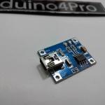 Lithium Battery Charging module 1A (TP4056) Mini USB