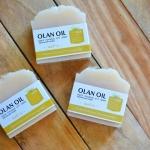 สบู่น้ำมันมะพร้าวสกัดเย็น สูตรนมข้าว Pure Coconut Oil Soap