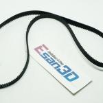 สายพาน timing belt width 6mm แบบ close loop 500-2GT-6