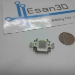 10W High power LED แสงสีน้ำเงิน แรงดัน 9-11V อัตราความสว่าง 100-150LM