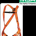 เข็มขัดนิรภัย Super light Harness MSA ANSI EN361:2002