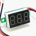 Digital voltmeter meter 0 - 99.9V