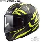 FF320 STREAM EVO JINK MATT BLACK YELLOW