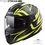 FF320 STREAM EVO JINK MATT BLACK YELLOW