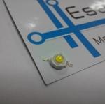 3W power LED แสงขาว แรงดัน 3.2-3.4V อัตราความสว่าง 240-280LM