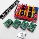 3D Printer Control shield v3 + 4ชิ้น A4988 driver