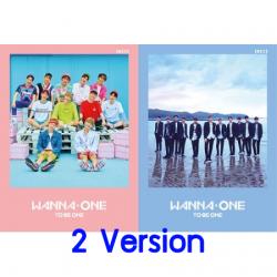 "[PRE-ORDER] WANNA ONE - 1st Mini Album ""1X1=1 (TO BE ONE)"" (SET 2 ปก) (Re-Stock ใหม่ 09/07/61 มีโปสปกชมพู)"