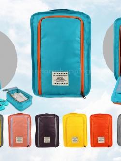 กระเป๋าจัดระเบียบรองเท้า มีหูหิ้ว