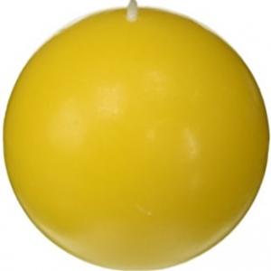 เทียนหอมลูกบอล [BALL CANDLE] กลิ่นสับปะรด (PINEAPPLE) 3 ชิ้น ต่อแพ็ค