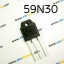 T228:59N30. N-Channel MOSFET 300V/59A
