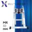 บันไดอลูมิเนียม ยืดหดได้ MX-28mini ทรงพาด 5 เมตร, ทรง A 2.5 เมตร thumbnail 1