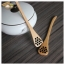 Natural Wood Honey Dipper Spoon : ช้อนสำหรับตักน้ำผึ้ง