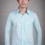 เสื้อเชิ้ตผู้ชายสีฟ้า ผ้า Oxford thumbnail 1