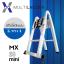 บันไดอลูมิเนียม ยืดหดได้ MX-28mini ทรงพาด 5 เมตร, ทรง A 2.5 เมตร thumbnail 2
