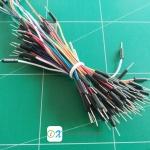 Jumper Wire for Breadboard สายจั้มผู้-ผู้ 65 เส้น