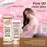 1 หลอด Jellys DD Cream ดีดีครีมเจลลี่ หัวเชื้อผิวขาว บำรุงผิวกาย ดีดีครีมน้ำแตก สารสกัดจากเกาหลี ผิวขาวใสออร่า ปกป้องผิวจากแสงแดด SPF100 PA+++ ส่งฟรี EMS