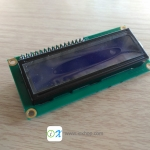 LCD Character Display 16x2 (Blue) with I2C Serial interface Board