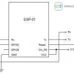 ESP8266 ตอนที่ 2 การต่อวงจรเพื่อโปรแกรมและใช้งาน