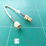 SMA Male to SMA Female RG316 Coax Cable 15cm