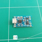 18650 Lithium Battery Charging Module + Protection