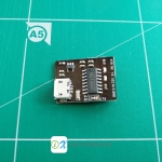 WeMos CH340G Breakout 5V 3.3V USB to serial module